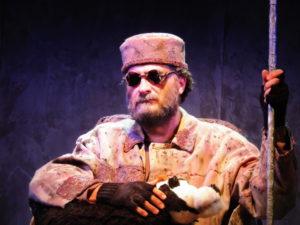 Vittorio Bonaccorso è Hamm in Finale Di Partita di Samuel Beckett
