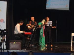 Momento musicale alla prima Conference@Show con il Centro Educativo Alzheimer