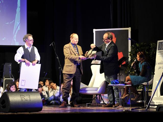 Bruno Ficili nel marzo del 2012 al Teatro Italia di Scicli