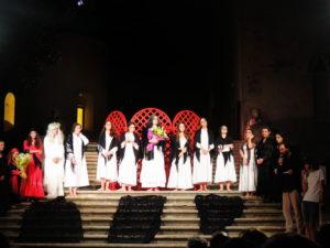 Il cast di La Casa di Bernarda Alba