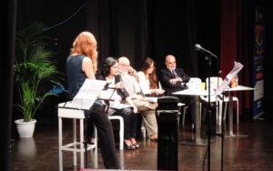 La responsabile del C.E.A., Dott.ssa Mariagrazia Brugaletta, presenta le attività del Centro