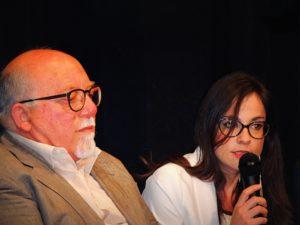 La Psicologa Teresa Ferraro durante uno dei suoi interventi su Alzheimer e Demenze