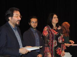 Si leggono le poesie di Mariella Bernio con gli attori della Compagnia Godot
