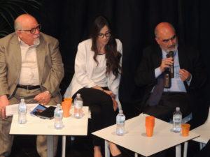 Da sx a dx, il Dott. Aldo Billone, la psicologa Teresa Ferraro e il Dott. Giuseppe Sapienza.