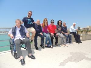 Foto di gruppo all'ex Scalo Trapanese di Marina di Ragusa!