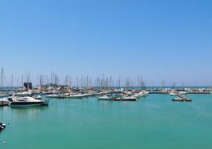 Il Porticciolo turistico di Marina di Ragusa